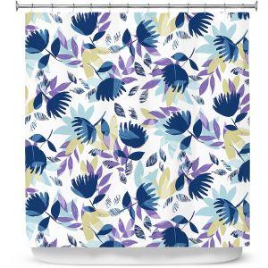 Premium Shower Curtains | Metka Hiti - Leafs