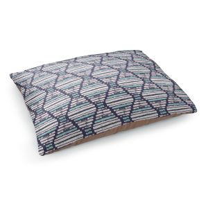 Decorative Dog Pet Beds | Metka Hiti - Midnight Light Blue