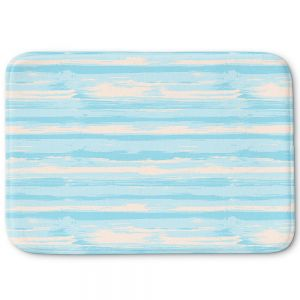 Decorative Bathroom Mats | Metka Hiti - Serene Blue Sea