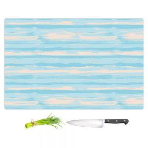 Artistic Kitchen Bar Cutting Boards | Metka Hiti - Serene Blue Sea