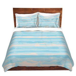 Artistic Duvet Covers and Shams Bedding   Metka Hiti - Serene Blue Sea
