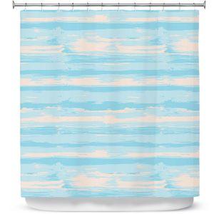 Premium Shower Curtains | Metka Hiti - Serene Blue Sea