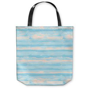 Unique Shoulder Bag Tote Bags |Metka Hiti - Serene Blue Sea