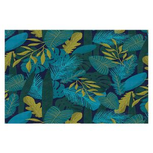 Decorative Floor Covering Mats   Metka Hiti - Sloth Leafs   Jungle Animals