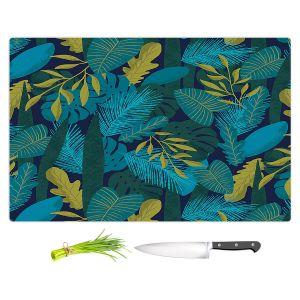 Artistic Kitchen Bar Cutting Boards | Metka Hiti - Sloth Leafs | Jungle Animals