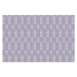 Decorative Floor Coverings | Metka Hiti - Southwest Arrows Purple