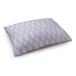 Decorative Dog Pet Beds   Metka Hiti - Southwest Arrows Purple