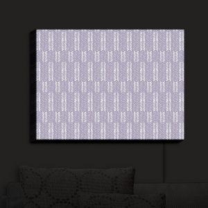 Nightlight Sconce Canvas Light | Metka Hiti - Southwest Arrows Purple | Arrows Patterns