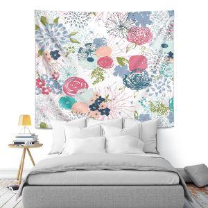 Artistic Wall Tapestry | Metka Hiti - Spring Time