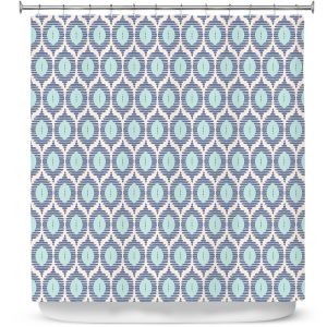 Premium Shower Curtains | Metka Hiti - Stripe Shape | Stripe pattern