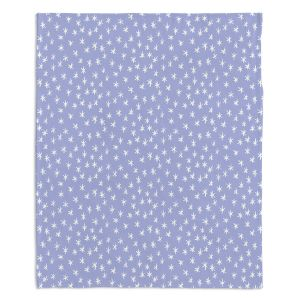 Decorative Fleece Throw Blankets | Metka Hiti - Weather Report Snow | Water winter pattern nature repetition