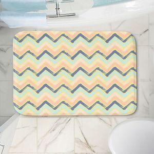 Decorative Bathroom Mats | Metka Hiti - Zig Zag | zig zag pattern