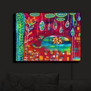 Nightlight Sconce Canvas Light | Michele Fauss's Elephants Eden