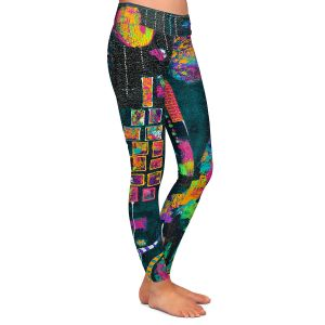 Casual Comfortable Leggings | Michele Fauss George Was Simply to Fabulous to Fit In