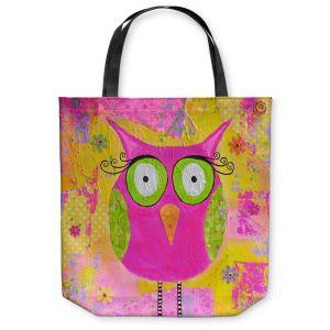 Unique Shoulder Bag Tote Bags   Michele Fauss Hootie the Owl