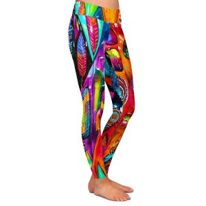 Casual Comfortable Leggings | Michele Fauss Mountains of Hope