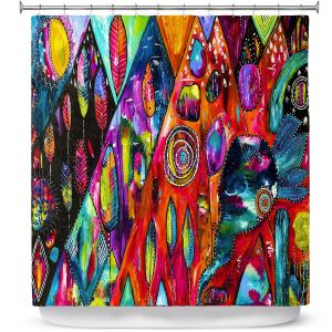 Premium Shower Curtains | Michele Fauss Mountains of Hope