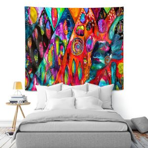 Artistic Wall Tapestry | Michele Fauss Mountains of Hope