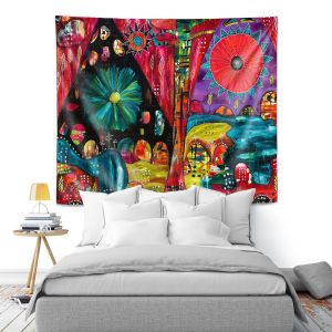 Artistic Wall Tapestry | Michele Fauss - River Flow | Abstract Design