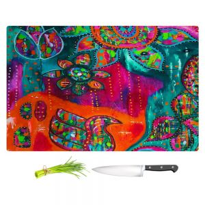 Artistic Kitchen Bar Cutting Boards | Michele Fauss - Spring Forth