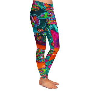 Casual Comfortable Leggings | Michele Fauss Spring Forth