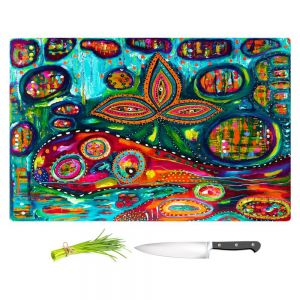 Artistic Kitchen Bar Cutting Boards | Michele Fauss - Whale Wonderland