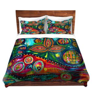 Artistic Duvet Covers and Shams Bedding | Michele Fauss - Whale Wonderland