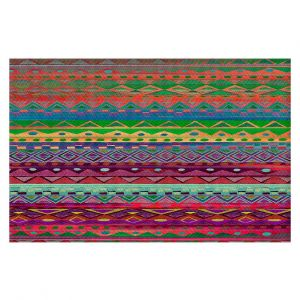 Decorative Area Rug 4 x 6 Ft from DiaNoche Designs by Nika Martinez - Ethnic Brazalet