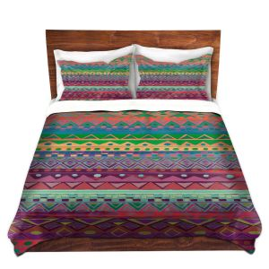 Artistic Duvet Covers and Shams Bedding | Nika Martinez - Ethnic Brazalet