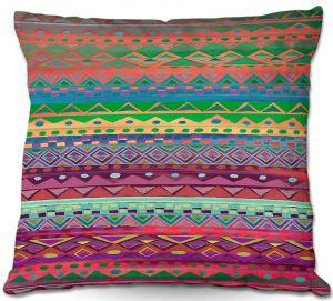 Decorative Outdoor Patio Pillow Cushion | Nika Martinez - Ethnic Brazalet