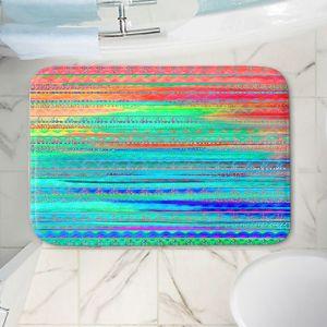 Decorative Bathroom Mats | Nika Martinez - Ethnic Sunset