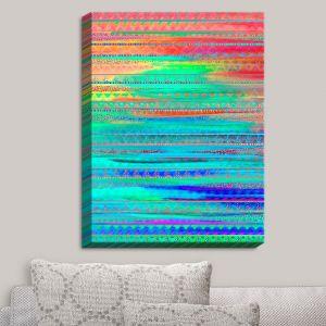 Decorative Canvas Wall Art | Nika Martinez - Ethnic Sunset