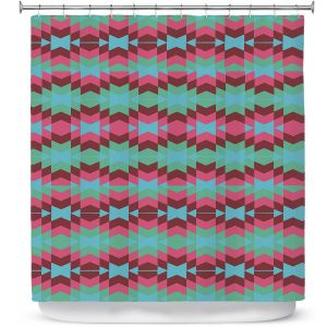 Premium Shower Curtains | Nika Martinez Flor de Luna