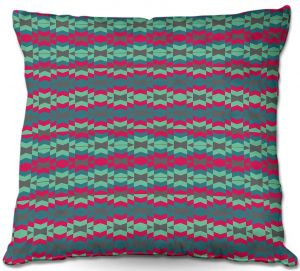 Decorative Outdoor Patio Pillow Cushion | Nika Martinez - Luna
