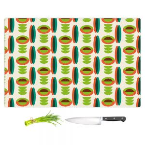 Artistic Kitchen Bar Cutting Boards | Nika Martinez - Mid Century Modern Lima