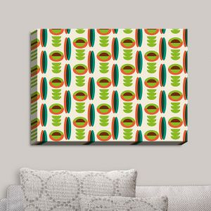 Decorative Canvas Wall Art | Nika Martinez - Mid Century Modern Lima | Patterns