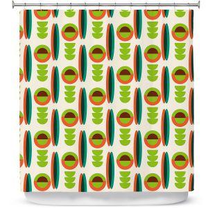 Premium Shower Curtains   Nika Martinez - Mid Century Modern Lima