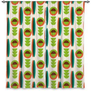 Decorative Window Treatments | Nika Martinez - Mid Century Modern Lima