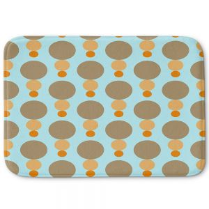 Decorative Bathroom Mats | Nika Martinez - Mid Century Mushroom