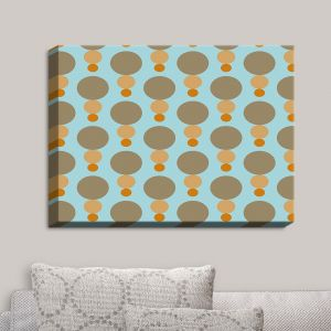 Decorative Canvas Wall Art | Nika Martinez - Mid Century Mushroom | Patterns