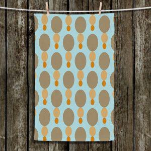 Unique Hanging Tea Towels | Nika Martinez - Mid Century Mushroom | Patterns