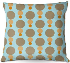 Decorative Outdoor Patio Pillow Cushion   Nika Martinez - Mid Century Mushroom
