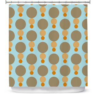 Premium Shower Curtains | Nika Martinez - Mid Century Mushroom