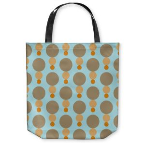 Unique Shoulder Bag Tote Bags | Nika Martinez - Mid Century Mushroom