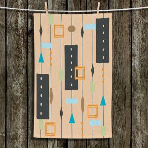 Unique Hanging Tea Towels | Nika Martinez - Mid Century Cubes 2
