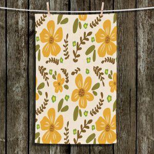 Unique Hanging Tea Towels   Nika Martinez - Mid Century Florals 2