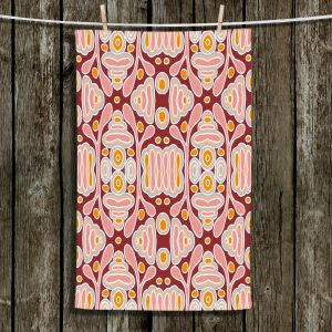 Unique Bathroom Towels | Nika Martinez - Mid Century Shapes | Geometric Pattern