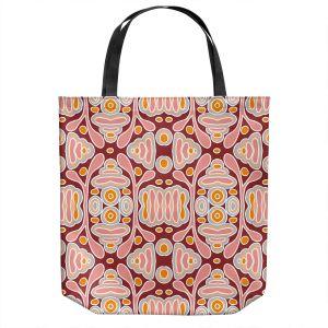 Unique Shoulder Bag Tote Bags   Nika Martinez - Mid Century Shapes   Geometric Pattern