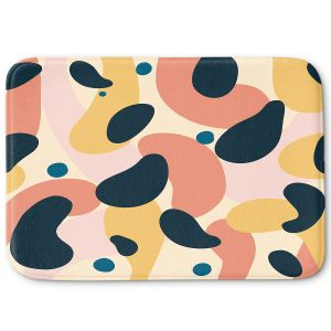 Decorative Bathroom Mats | Nika Martinez - Mid Century Voyage 2 | Tear Drop Patterns