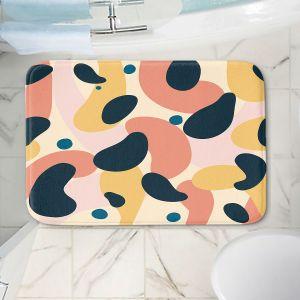 Decorative Bathroom Mats | Nika Martinez - Mid Century Voyage 2 | Tear Drop Patterns